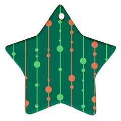Green pattern Ornament (Star)
