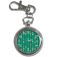Green pattern Key Chain Watches