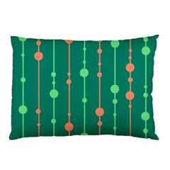 Green pattern Pillow Case