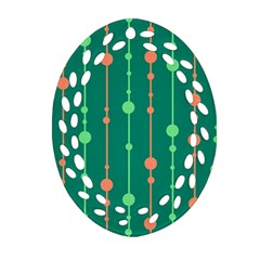Green pattern Ornament (Oval Filigree)