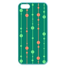 Green pattern Apple Seamless iPhone 5 Case (Color)