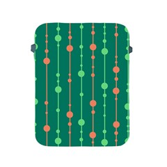 Green pattern Apple iPad 2/3/4 Protective Soft Cases
