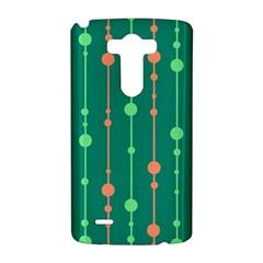 Green pattern LG G3 Hardshell Case