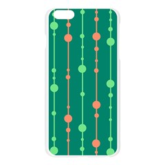 Green pattern Apple Seamless iPhone 6 Plus/6S Plus Case (Transparent)