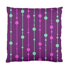 Purple and green pattern Standard Cushion Case (One Side)