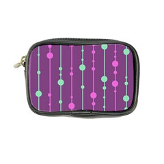 Purple and green pattern Coin Purse