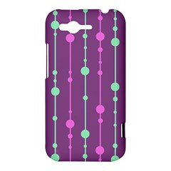 Purple and green pattern HTC Rhyme