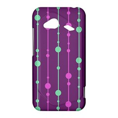 Purple and green pattern HTC Droid Incredible 4G LTE Hardshell Case