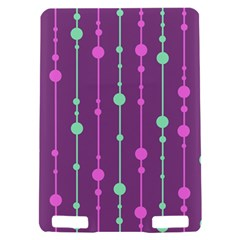 Purple and green pattern Kindle Touch 3G