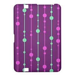 Purple and green pattern Kindle Fire HD 8.9