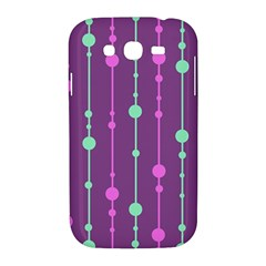Purple and green pattern Samsung Galaxy Grand DUOS I9082 Hardshell Case