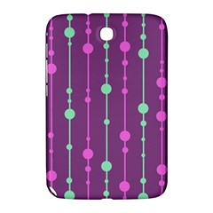 Purple and green pattern Samsung Galaxy Note 8.0 N5100 Hardshell Case