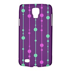 Purple and green pattern Galaxy S4 Active