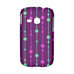 Purple and green pattern Samsung Galaxy S6310 Hardshell Case