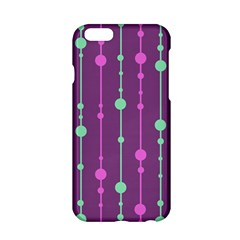 Purple and green pattern Apple iPhone 6/6S Hardshell Case