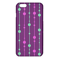 Purple and green pattern iPhone 6 Plus/6S Plus TPU Case