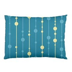 Blue pattern Pillow Case (Two Sides)