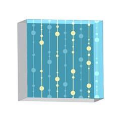 Blue pattern 4 x 4  Acrylic Photo Blocks