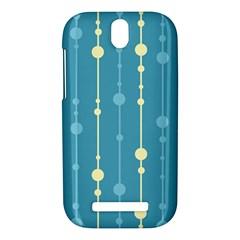 Blue pattern HTC One SV Hardshell Case