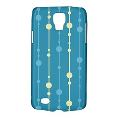 Blue pattern Galaxy S4 Active