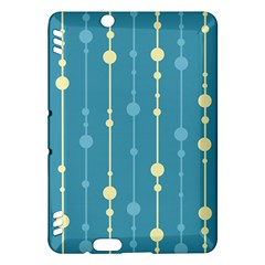Blue pattern Kindle Fire HDX Hardshell Case