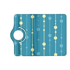 Blue pattern Kindle Fire HD (2013) Flip 360 Case