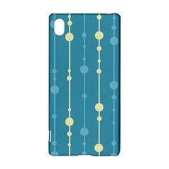 Blue pattern Sony Xperia Z3+
