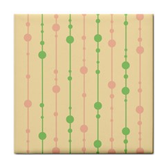 Pastel Pattern Tile Coasters