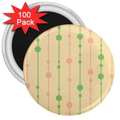 Pastel pattern 3  Magnets (100 pack)