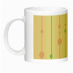 Pastel pattern Night Luminous Mugs