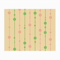 Pastel pattern Small Glasses Cloth (2-Side)