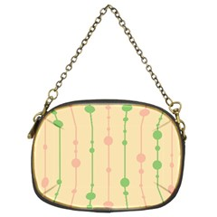 Pastel pattern Chain Purses (Two Sides)