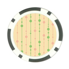 Pastel pattern Poker Chip Card Guards (10 pack)