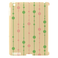 Pastel pattern Apple iPad 3/4 Hardshell Case (Compatible with Smart Cover)