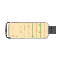 Pastel pattern Portable USB Flash (One Side)