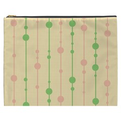 Pastel pattern Cosmetic Bag (XXXL)