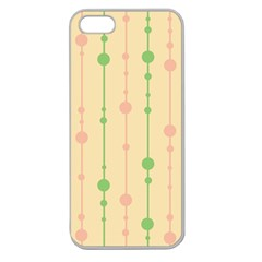 Pastel pattern Apple Seamless iPhone 5 Case (Clear)