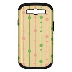 Pastel pattern Samsung Galaxy S III Hardshell Case (PC+Silicone)
