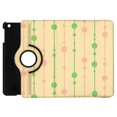 Pastel pattern Apple iPad Mini Flip 360 Case