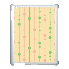 Pastel pattern Apple iPad 3/4 Case (White)