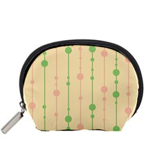 Pastel pattern Accessory Pouches (Small)