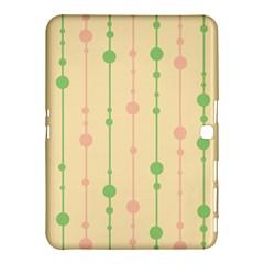 Pastel pattern Samsung Galaxy Tab 4 (10.1 ) Hardshell Case
