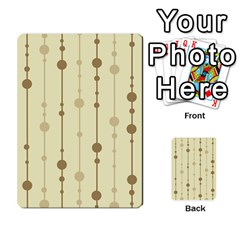 Brown pattern Multi-purpose Cards (Rectangle)