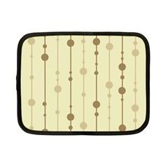 Brown pattern Netbook Case (Small)