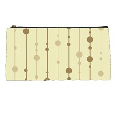 Brown pattern Pencil Cases