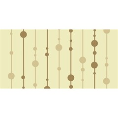 Brown pattern YOU ARE INVITED 3D Greeting Card (8x4)