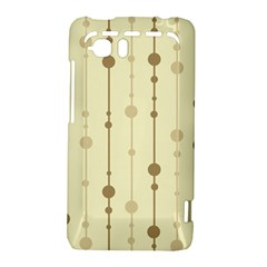 Brown pattern HTC Vivid / Raider 4G Hardshell Case