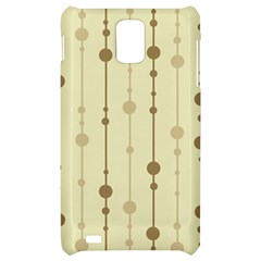 Brown pattern Samsung Infuse 4G Hardshell Case