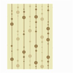 Brown pattern Small Garden Flag (Two Sides)