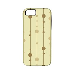 Brown pattern Apple iPhone 5 Classic Hardshell Case (PC+Silicone)